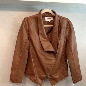BB Dakota Gabrielle Faux Leather Asymmetrical Jack